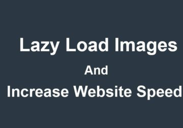 Load image when scrolled in view